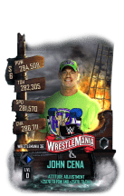 SuperCard JohnCena S6 32 WrestleMania36 MITB