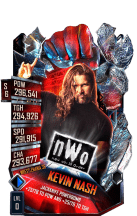 SuperCard KevinNash S6 32 WrestleMania36 Event