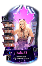 SuperCard Natalya S6 32 WrestleMania36 Event