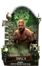 SuperCard TripleH S6 32 WrestleMania36 Event