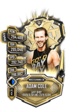 SuperCard AdamCole S6 32 WrestleMania36 Title