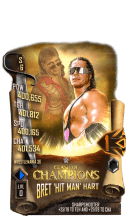 SuperCard BretHart S6 32 WrestleMania36 Event