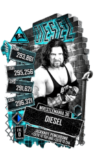 SuperCard Diesel S6 32 WrestleMania36 Extreme
