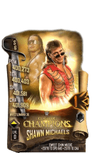 SuperCard ShawnMichaels S6 32 WrestleMania36 Event