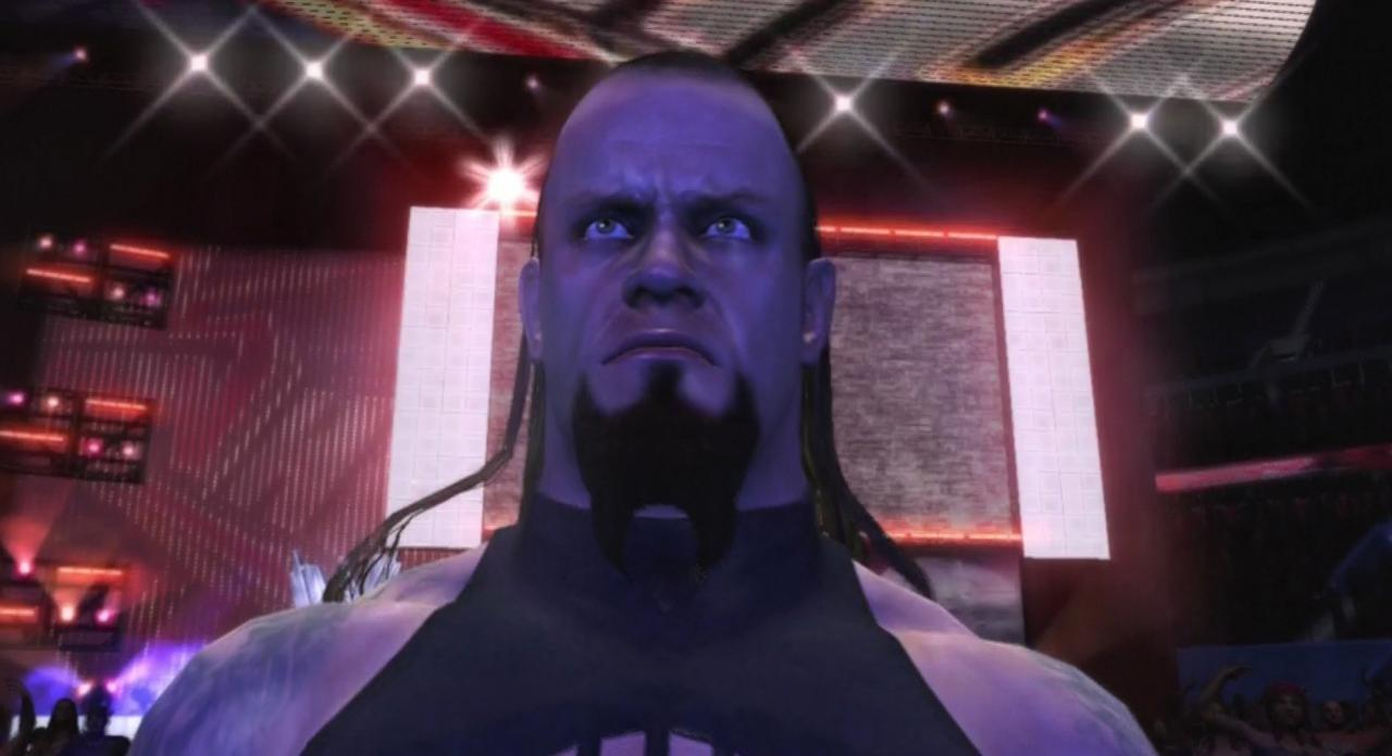 The Undertaker Wwe Smackdown Vs Raw 2011 Roster