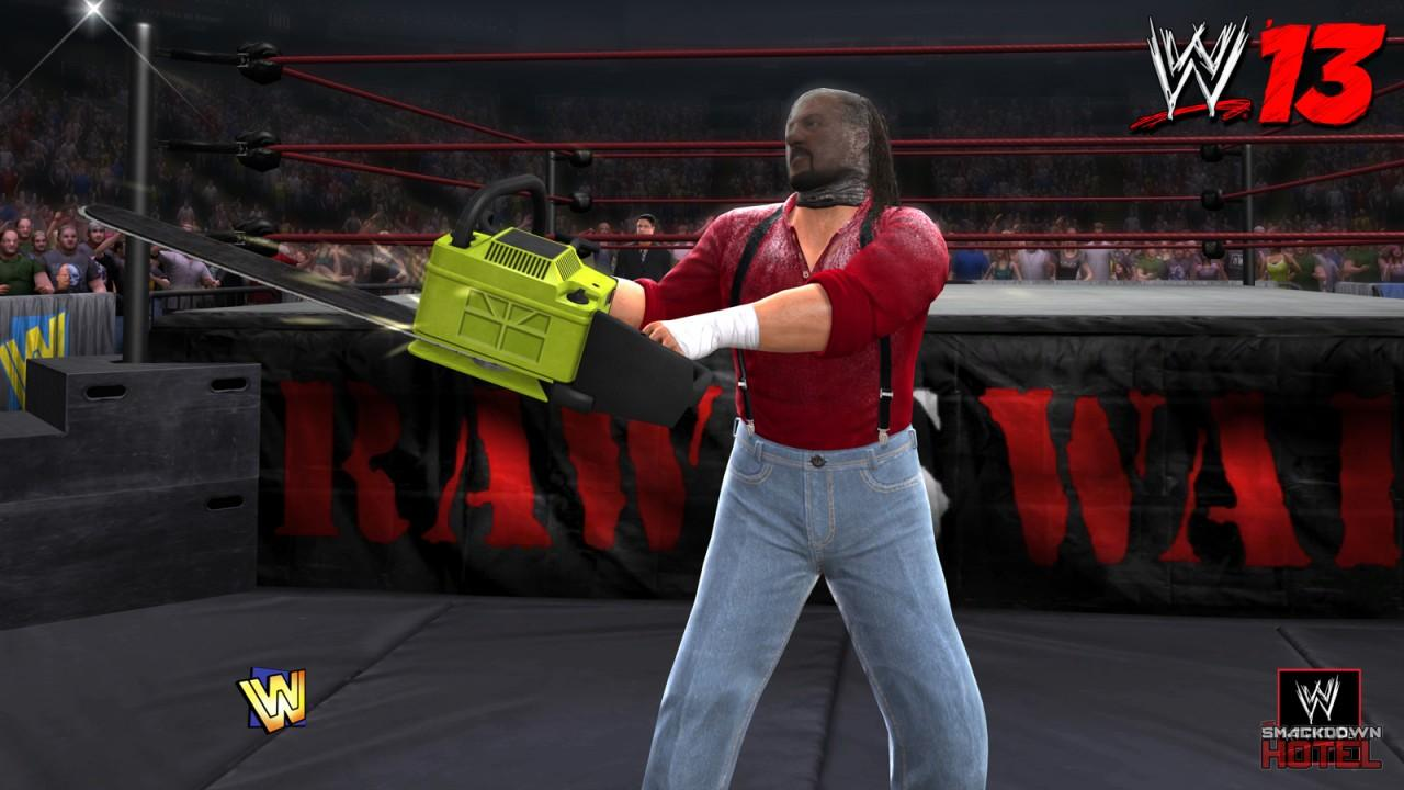 wwe 13 4 new screenshots featuring dlc damien sandow