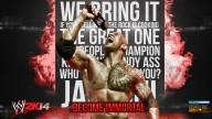 WWE2K14 Wallpaper SDH