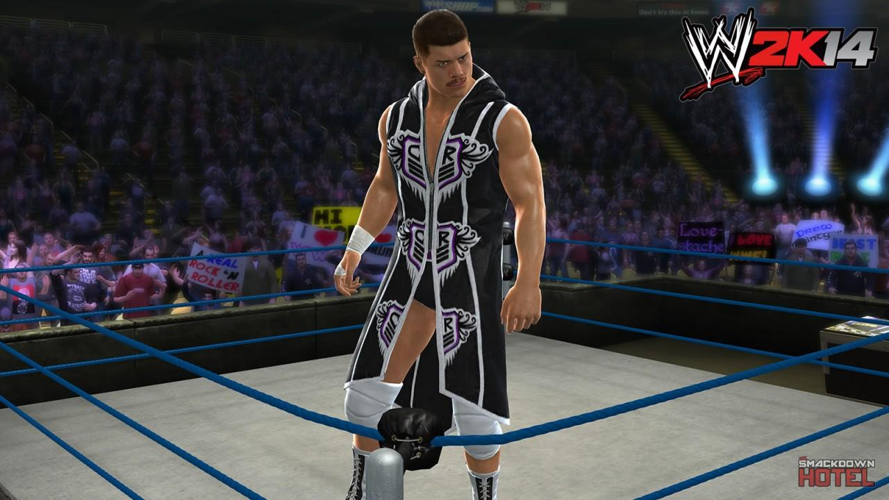 Cody Rhodes WWE 2K14 Roster