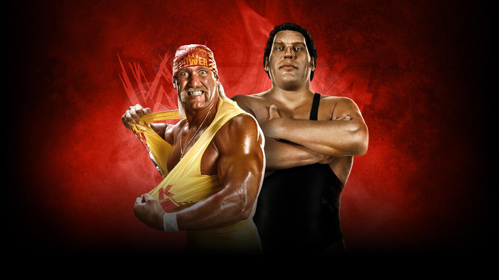 WWE2K14 Wallpaper Rock Warrior PhenomEdition HoganAndre