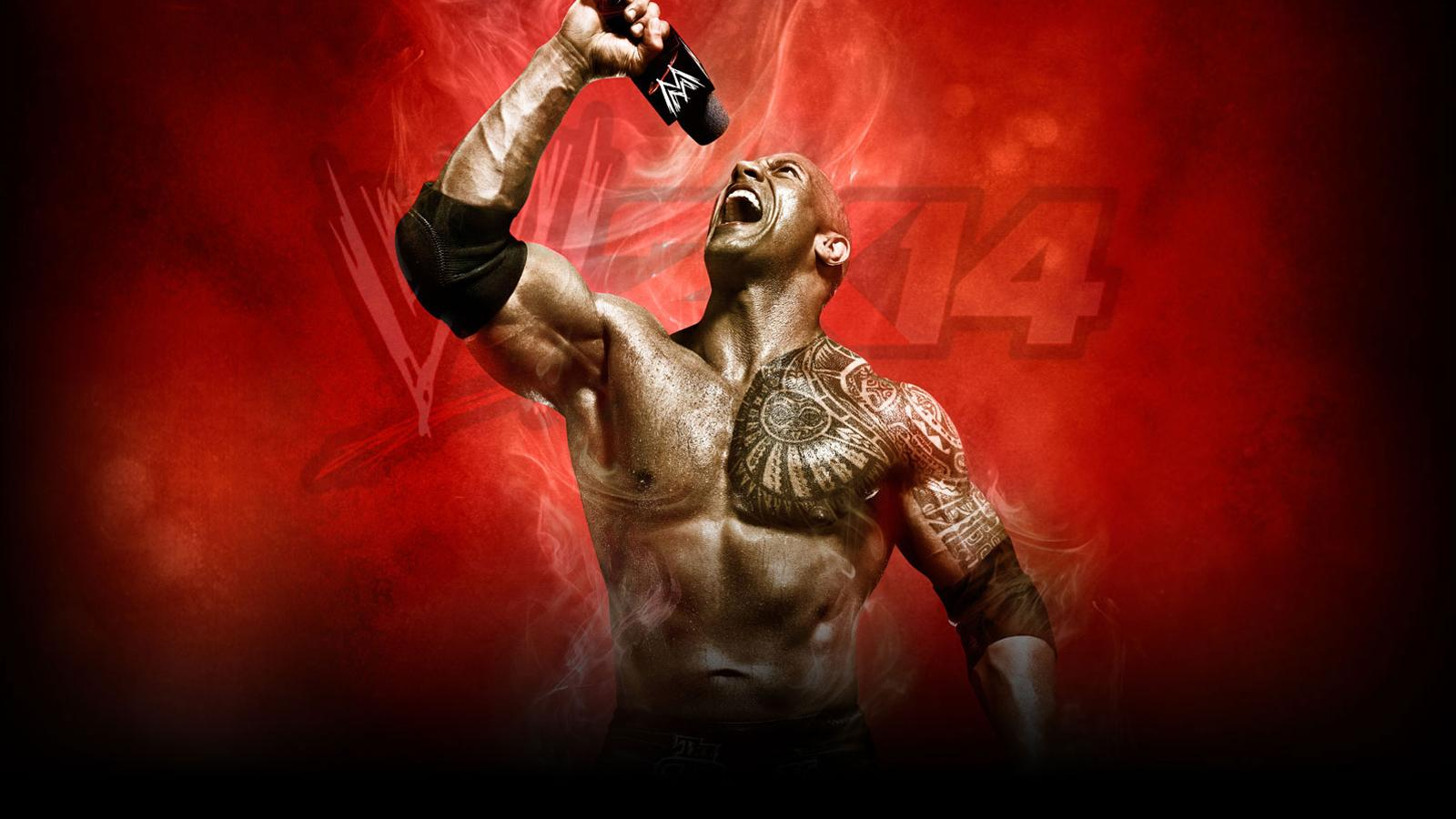 WWE2K14 Wallpaper Rock