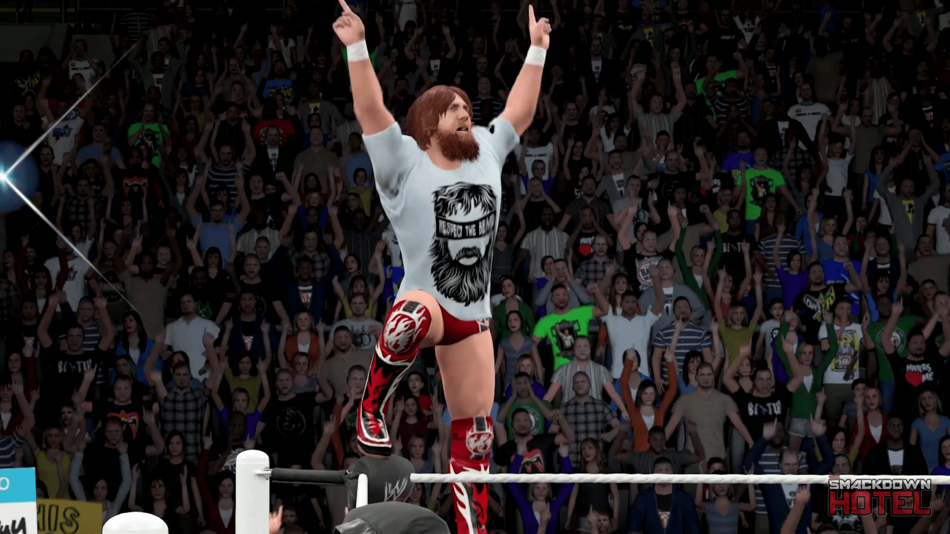 Wwe 2k14 Daniel Bryan Yes Entrance Daniel Bryan - WWE 2K1...
