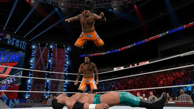 WWE2K15 PC Usos
