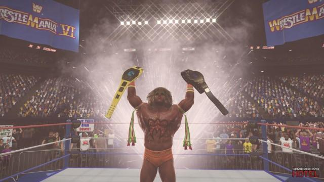 Path of the Warrior WWE 2K15 2K Showcase DLC Released - with Trailer & 23 New Screenshots