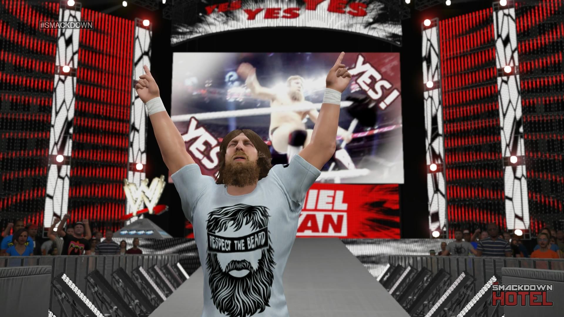 Wwe 2k14 Daniel Bryan Yes Entrance History of WWE Games: ...