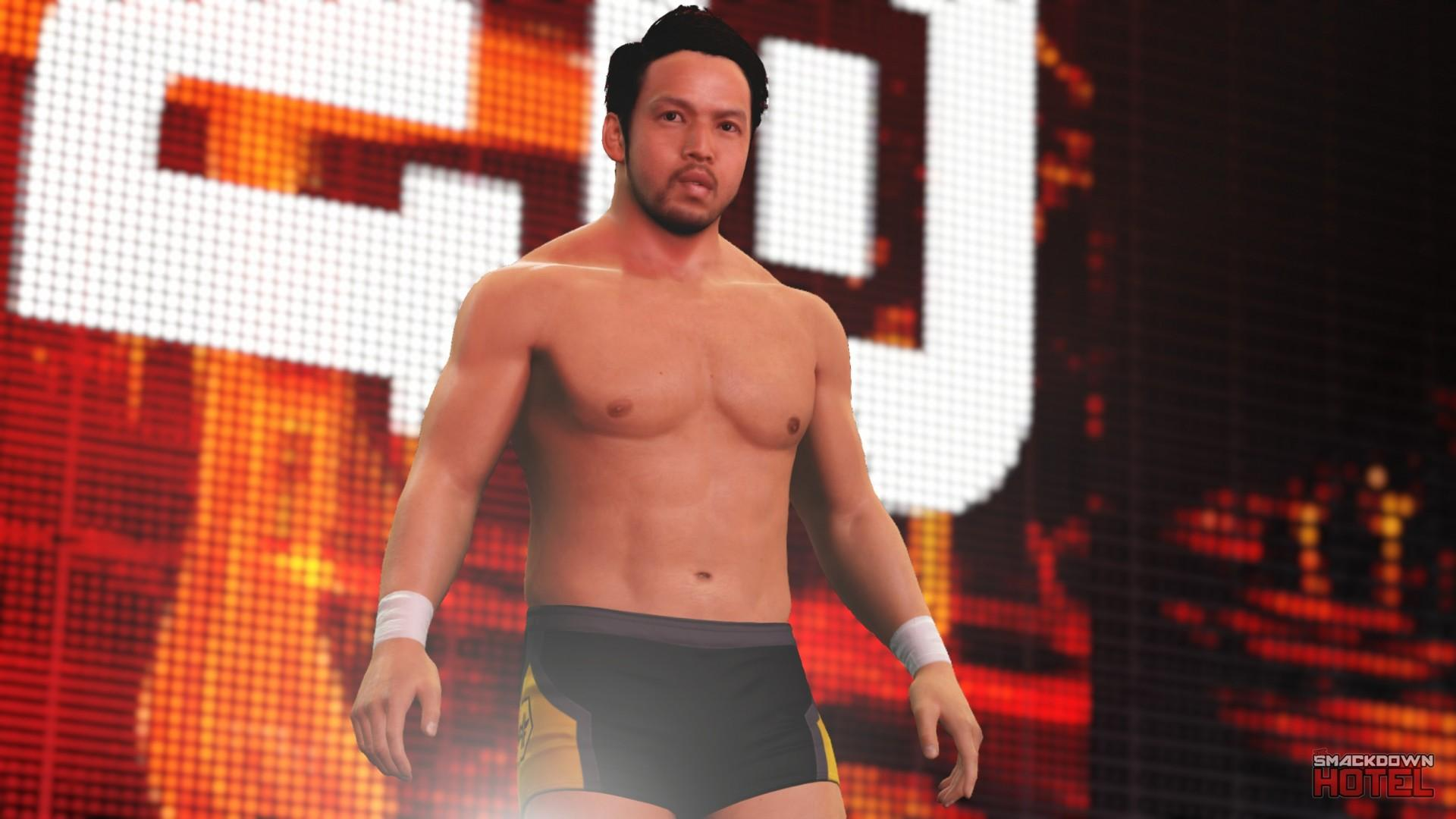 hideo itami wwe 2k16 roster