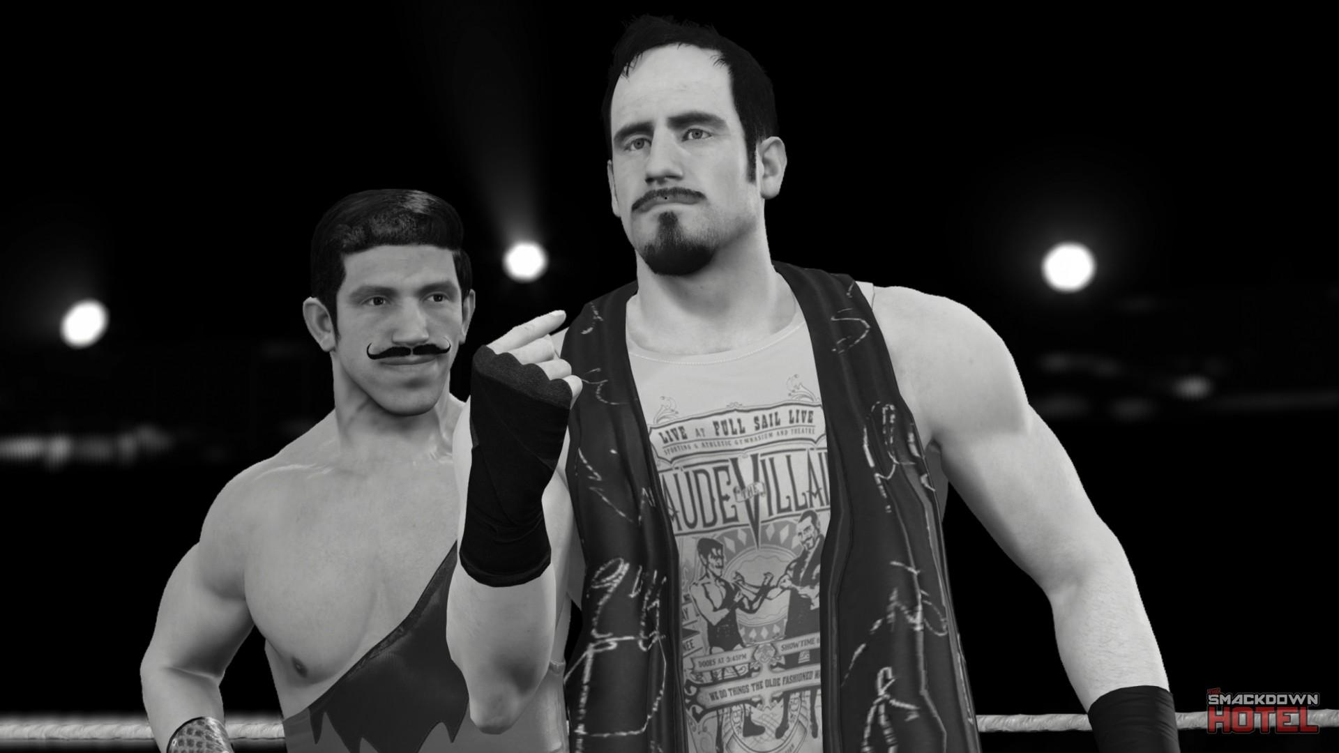 WWE2K15 Vaudevillains