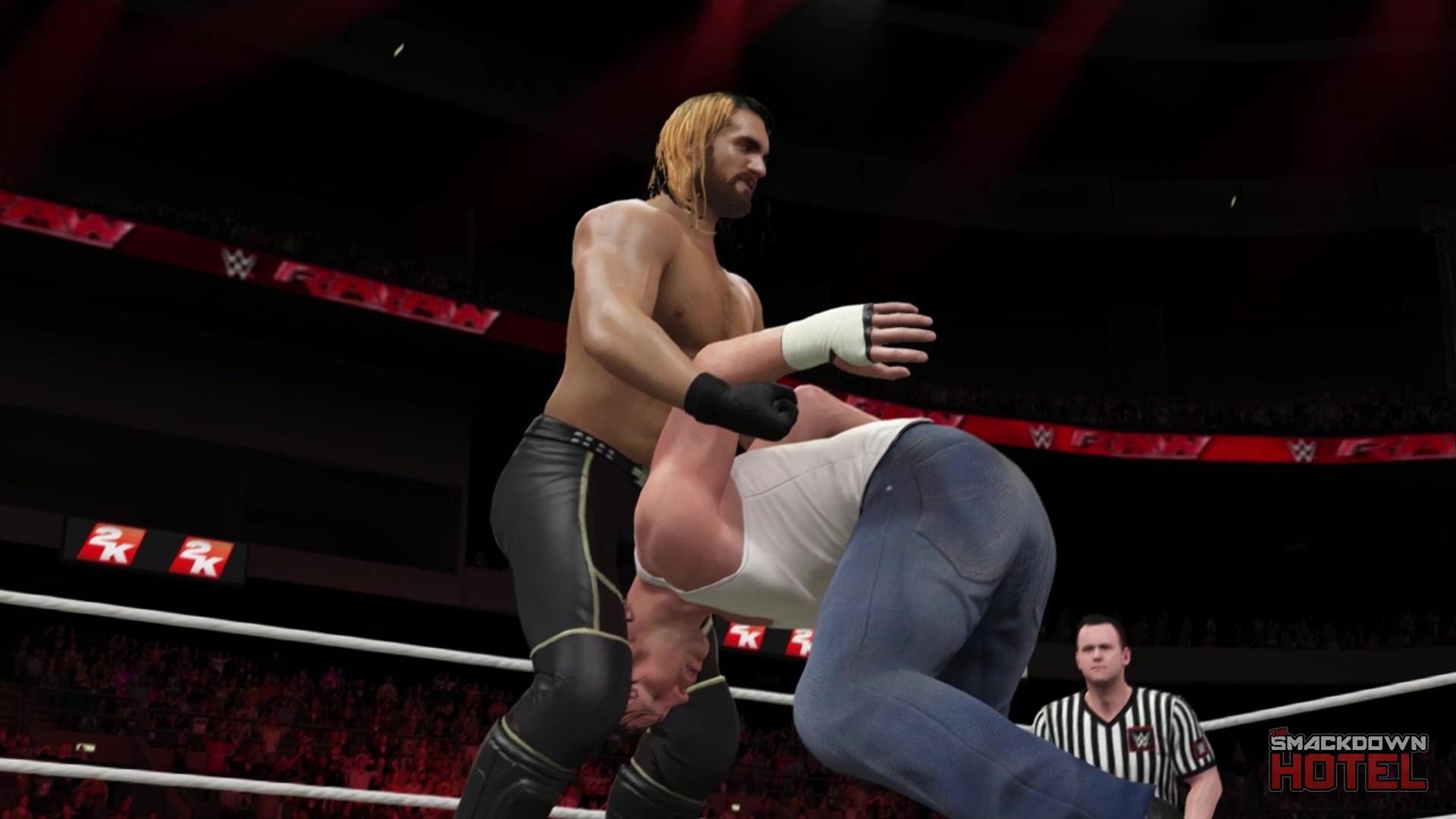 Seth Rollins - WWE 2K16 - Roster
