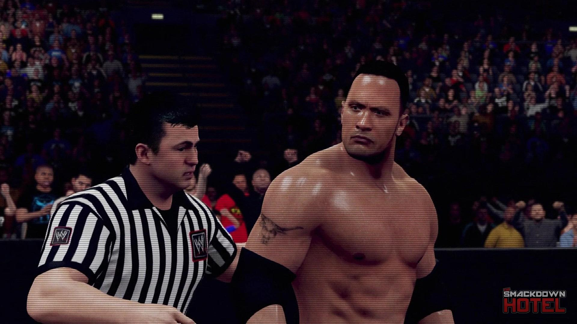 WWE2K16 Trailer TheRock Retro