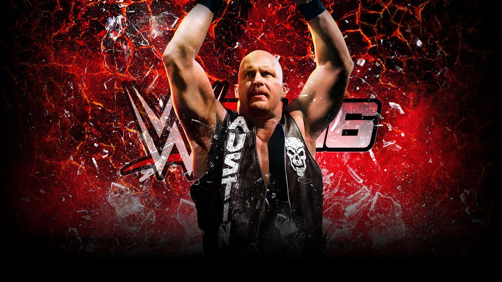 WWE2K16 Wallpaper StoneCold