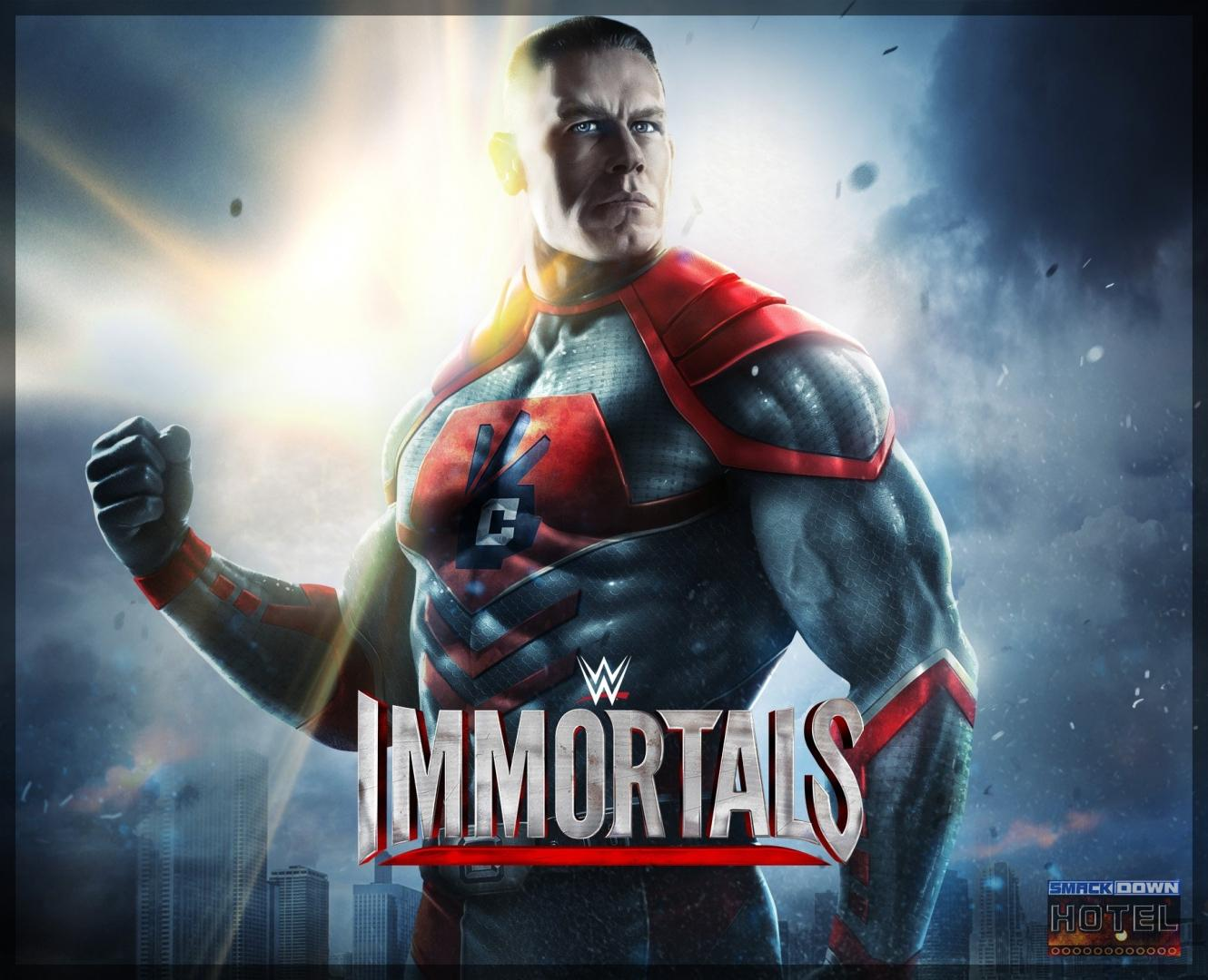 Immortals Artwork JohnCena2