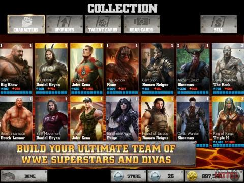 WWE Immortals FAQ: Characters, Levels, Stats