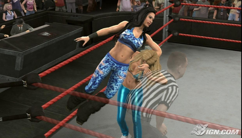 melina wwe smackdown vs raw 2009 roster
