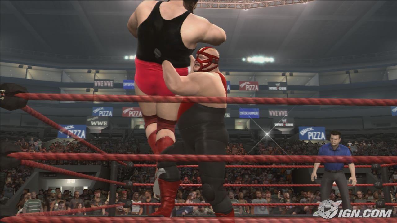 vader wwe smackdown vs raw 2009 roster