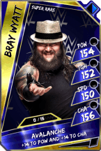 BrayWyatt - SuperRare (Loyalty)