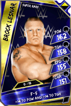 BrockLesnar - SuperRare (Loyalty) (PCC)