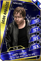 DeanAmbrose - SuperRare (Loyalty - Fusion)