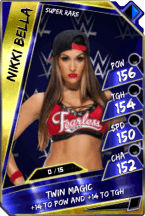 NikkiBella - SuperRare (Loyalty)
