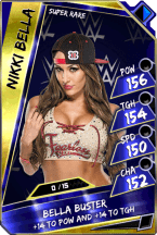 NikkiBella - SuperRare  (Loyalty Fusion)