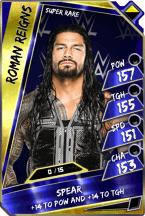 RomanReigns - SuperRare  (Loyalty Fusion)