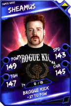Sheamus - SuperRare
