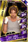 DeanAmbrose - UltraRare (Loyalty)