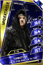 Undertaker - SuperRare (Loyalty) (PCC)