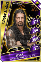 RomanReigns - UltraRare (Loyalty)