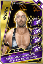Ryback - UltraRare (Loyalty PCC)