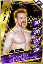 Sheamus - UltraRare (Loyalty)