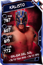 Kalisto - Survivor (Ring Domination)