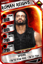 RomanReigns - Survivor (PCC-1)