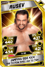 Rusev - Legendary