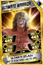 UltimateWarrior - Legendary