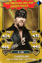 Undertaker - Legendary (Throwback)