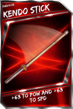Support Card: KendoStick - Survivor