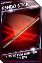 Support Card: KendoStick - WrestleMania
