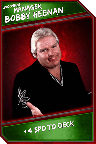 Support Card: Manager - BobbyHeenan - Uncommon