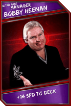 Support Card: Manager - BobbyHeenan - UltraRare