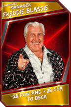 Support Card: Manager - FreddieBlassie - Legendary