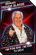 Support Card: Manager - FreddieBlassie - WrestleMania